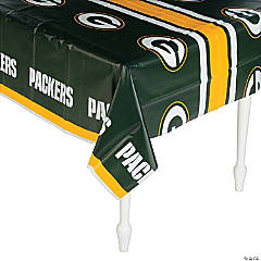 Plastic NFL® Green Bay Packers Tablecloth