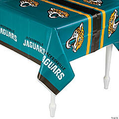 Plastic NFL® Jacksonville Jaguars Tablecloth