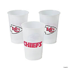 Plastic NFL® Kansas City Chiefs Cups