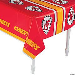 Plastic NFL® Kansas City Chiefs Tablecloth