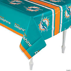 Plastic NFL® Miami Dolphins Tablecloth