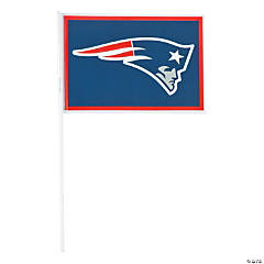 Plastic NFL® New England Patriots Flags