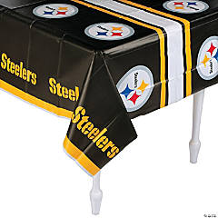 Plastic NFL® Pittsburgh Steelers Tablecloth