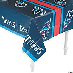 Plastic NFL® Tennessee Titans Tablecloth
