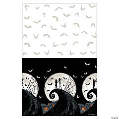 Plastic Nightmare Before Christmas Tablecloth