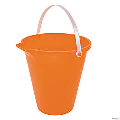 Plastic Orange Sand Bucket