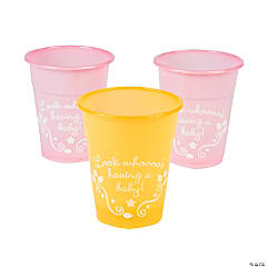 Plastic Owl Baby Shower Disposable Cups