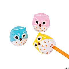 Plastic Owl Pencil Sharpeners