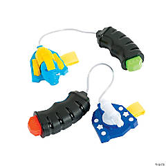 Plastic Palm-Activated Squirt Guns