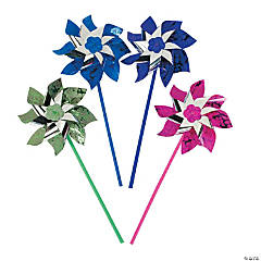 Plastic Paradise Party Pinwheels