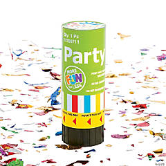 Plastic Party Poppers