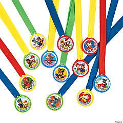 Plastic Paw Patrol™ Award Medals