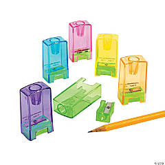 Plastic Pencil & Crayon Sharpeners