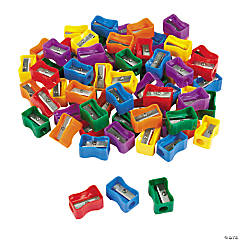 Plastic Pencil Sharpener Assortment