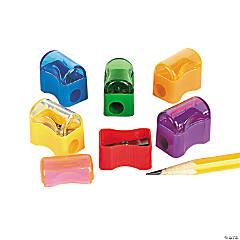 Plastic Pencil Sharpeners