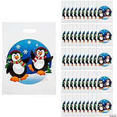 Plastic Penguin Goody Bags