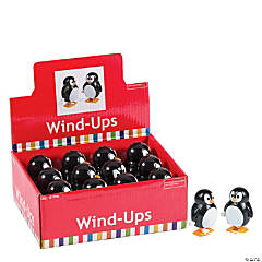 Plastic Penguin Wind-Up Characters