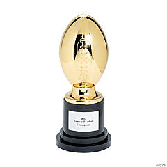 Plastic Personalized Fantasy Football Trophy