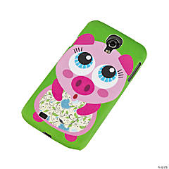 Plastic Pig Character Samsung® S4 Case