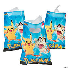 Plastic Pikachu & Friends Goody Bags