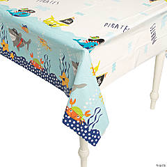 Plastic Pirate Animals Tablecloth
