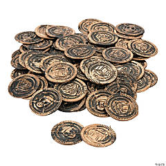 Plastic Pirate Coins