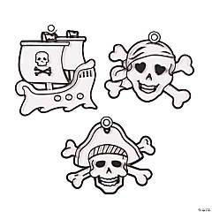Plastic Pirate Suncatchers