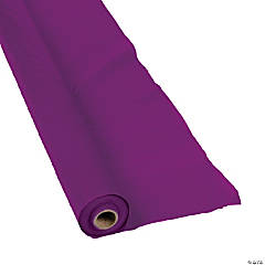Plastic Plum Tablecloth Roll