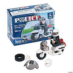 Plastic Police Building Blocks Sets