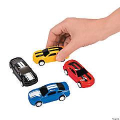 Plastic Pullback Car Racers