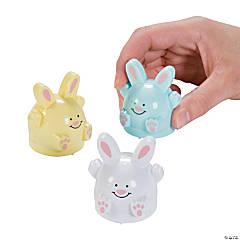 Plastic Pullback Easter Bunnies