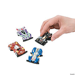 Plastic Pullback Race Cars