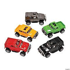 Plastic Pullback SUV Assortment