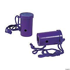 Plastic Purple Air Blaster Horns