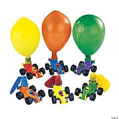 Plastic Race Car Balloon Racers