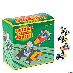 Plastic Racing Car Building Block Kits