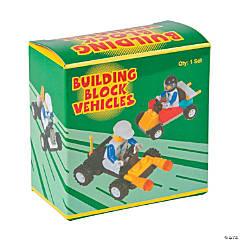 Plastic Racing Car Building Block Kits
