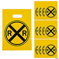 Plastic Railroad Goody Bags