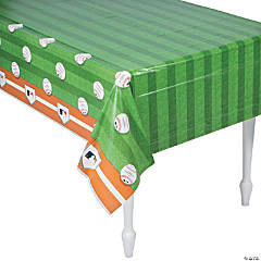 Plastic Rawlings® Baseball Tablecloth