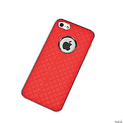 Plastic Red Argyle iPhone® 5 Case