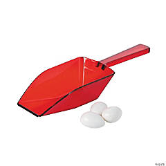 Plastic Red Candy Scoops