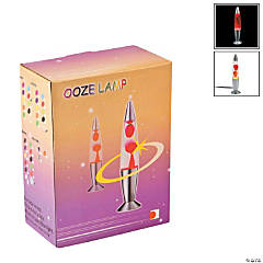 Plastic Red Ooze Lamp