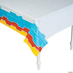 Plastic Robot Party Tablecloth