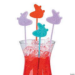 Plastic Rockin' 50's Stir Sticks