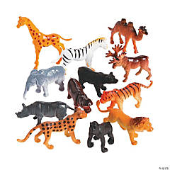 Plastic Safari Animals