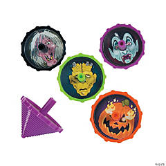 Plastic Scary Halloween Spin Tops
