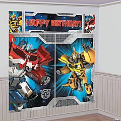 Plastic Scene Setters™ Transformers™ Wall Decoratings Kit