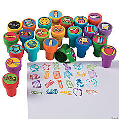 Plastic School Stampers
