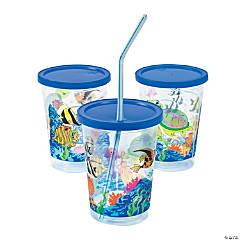 Plastic Sea Life Kids' Meal Cups