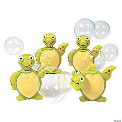 Plastic Sea Turtle Bubble Bottles